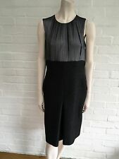 $10K MOST WANTED CHANEL ALPACA TWEED BLEND DRESS 2009 SZ F 42 UK 14 US 10 RARE