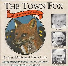 THE TOWN FOX and Other Musical Tales / By Carl Davis & Carla Lane CD / NEW