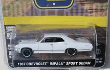 `67 Chevrolet Impala 4-Door white 1967 **Greenlight Country Roads 1:64 RAR+OVP