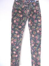 Miss Me Size 26 Floral Cargo Ankle Skinny Jeans