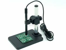 continuous zoomi 1X to 600X Microscope LED USB Digital Video Camera Image +Stand