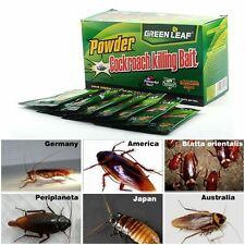 GreenLeaf Powder Cockroach Killing Bait (Roach killer ) 6 Pack Of 5 Grams