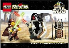 INSTRUCTION MANUAL For LEGO 7101 - Star Wars - Lightsaber Duel - MANUAL ONLY