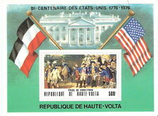 Upper Volta 1975 Washington Surrender at Yorktown Souvenir Sheet MNH (SC# 367a)