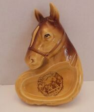 Vtg Kentucky Greenbo State Park Ashtray Horse Equestrian Collectible EUC Gift