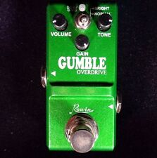 ROWIN LN-315 MICRO DUMBLER (DUMBLE AMP SIMULATOR) EFFECT PEDAL WITH TRUE BY PASS