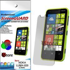 5 Pellicole Per NOKIA Lumia 620 Proteggi Salva Schermo Display LCD Pellicola