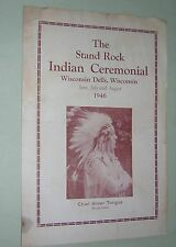 THE STAND ROCK INDIAN CEREMONIAL. 1946. NORTH AMERICAN WINNEBAGO INDIAN