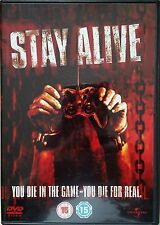 """""""STAY ALIVE"""" DVD FANTASY HORROR TOP ZUSTAND"""