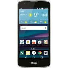 New LG Phoenix 2 4G LTE AT&T GoPhone K371 16GB Prepaid Black Android Smartphone