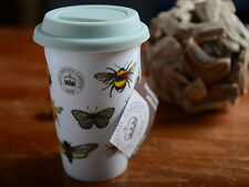 ROYAL BOTANIC GARDENS, Kew Bug Study INSULATED TRAVEL MUG With Silicone Lid
