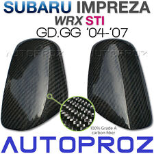Carbon Fiber Car Side Mirror Cover For Subaru WRX STI GD GG GDB 2004-2007 TU
