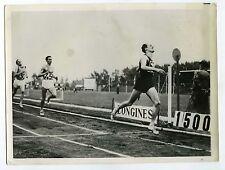PHOTO United Press des sprinters en action course à pied Sport  1956 JO