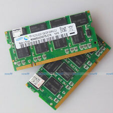 Samsung 2GB 2x1GB PC2700 DDR333 333Mhz 200PIN Laptop SO-DIMM Memory 1G RAM NEW