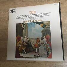 LP Haydn Symphonie 48 44 26 Bath festival Yehudi Menuhin Stereo CVA 923 *