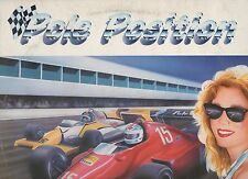 POLE POSITION 1984 LP COLEGIALA DAVID GRANT EURYTHMICS BILLY IDOL  MIKE FRANCIS