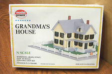 MODEL POWER GRANDMA'S HOUSE N SCALE BUILDING KIT