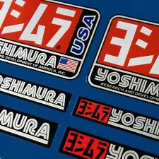 10pcs Premium YOSHIMURA Stickers Decals Graphics Aufkleber Autocollant Adesivi