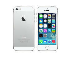 NEW in BOX APPLE iPhone 5s 32GB SILVER WHITE FACTORY UNLOCKED 4G LTE SMARTPHONE