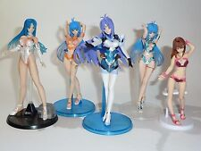 Xenosaga Kos-mos sexy anime PVC mini-figure LOT