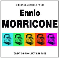 Great Original Movie Themes - Ennio Morricone (2014, CD NEU)5 DISC SET