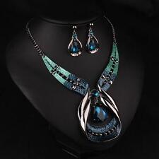 Necklace Choker Chunky Chain Statement Jewelry Bib Fashion Pendant Crystal Women