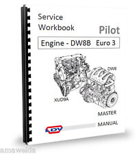 LDV Pilot Van Minibus 1.9 Engine Workshop Manual L4eur3