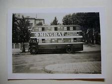ESP033 - 1940s BARCELONA TRACTION Co - BUS Photo SPAIN