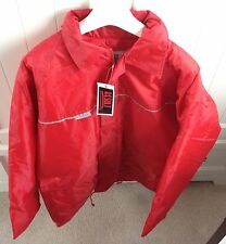 Result Clothing Red Thermal Quilted Waterproof Warm Coat Jacket Outdoor Large