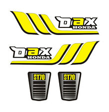 Kit 4 Stickers plastifiés DAX Honda type origine