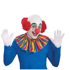 Bald Cap Mens Halloween Clown Wig