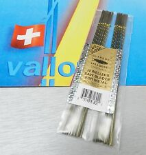 VALLORBE SAW BLADES # 2/0 JEWELERS SAWS SWISS ORIGINAL PREMIUM A-1 BLADE 1 GROSS
