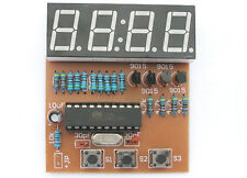 DIY electronic Kit - Digital Clock AT89 Microcontroller chip mcu LED 8051