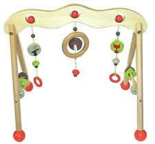 Discoveroo - Wooden Baby Play Gym: Woodland Adventure