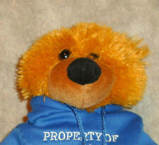 "GIFTCO PROPERTY OF INDIANAPOLIS XXL BEAR W HOODIE 15"" VGC CUTE"