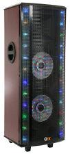 QFX SBX-721000BTL Hi-Fi LED Light Tower Speaker w/ Bluetooth  Built-In Amplifier