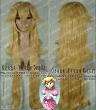 Super Mario Brothers Princess Mary Peach Princess Peach Long cosplay Wig R07