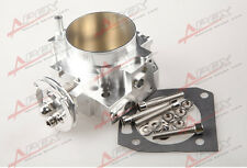 70MM RSX DC5 CIVIC SI EP3 K20 K20A BILLET THROTTLE BODY CNC T6 ALUMINUM SILVER