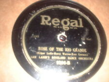 78RPM Regal 9396 Sam Lanin, Rose of the Rio, Joseph Samuels, Carry Me Back 2 M P