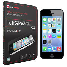 Cenitouch® - ULTRA SLIM Tempered-Glass Screen Protector for iPhone 4S / 4