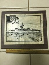 US Navy USS Knox FF-1052 Decommissioning Plaque 1969-1992