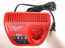 Milwaukee New Genuine 48-59-2401 M12 12V Lith-Ion Charger 48-11-2401 2402 2420