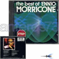 """ENNIO MORRICONE """"THE BEST OF"""" RARE CD ITALY 1984"""