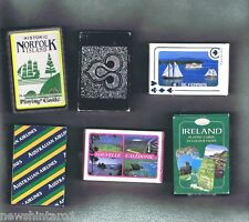 #T38.  SIX PACKS OF PLAYING CARDS, AIRLINES, NORFOLK ISLAND etc