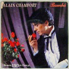 Alain Chamfort 45 Tours interprète Gainsbourg  Espagne
