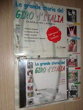 CD-ROM LA GRANDE STORIA DEL GIRO D´ITALIA BORRELLI EDITORE COPPI BINDA BARTALI