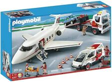 NEW/SEALED-NIB - Playmobil 5207 Airplane Airport Vehicle Truck Playset 4310 3185
