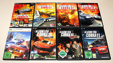 8 PC SPIELE SET - ALARM FÜR COBRA 11 - NITRO SYNDIKAT HIGHWAY NIGHTS CRASH TIME