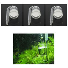 3PCS Fish Nano CO2 Diffuser for Aquarium Skimmer Plant Tank Plastic