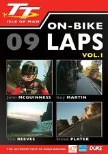 Isle of Man TT 2009 - On Bike Laps Volume 1 (New DVD) Guy Martin John McGuinness